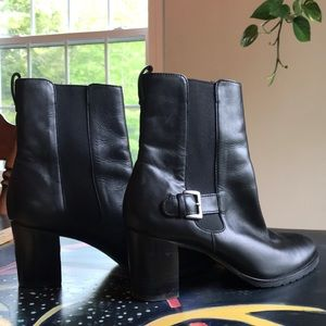 Cole Haan, Black leather boots